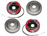 Drum brake upgrade kit