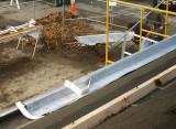Lining the pole gutter - Conshohocken State Rd side