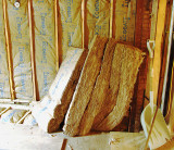 Insulation with R13 and R30 EcoBatt