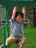 At the playground: hanging7591