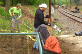 Cleaning Up the Cynwyd Trail, April 2008