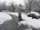 Paul shoveling out the masses