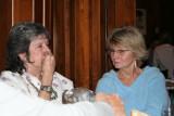 L- R, Joan Eliz. Gaither and June Voss.
