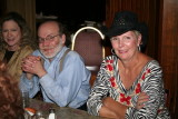L-R Regulars Courtney Lewis-Hale, Larry Diamond and Jo Ann Solomon.
