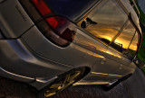 Subaru at Sunset