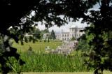 Powerscourt House - through the trees