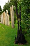Among the standing stones 2, Brigit's Garden
