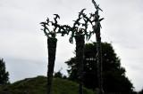 Sculpture detail - Brigit's Garden