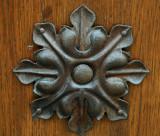Door ornament.