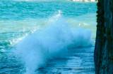 Turbulent lake