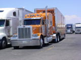 Allied big rig truck