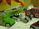 drag racer & Busses