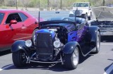 black roadster convertible