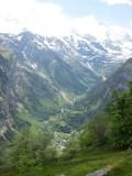 Valle de Lauterbrunnen desde Wengen