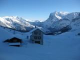 Wetterhorn desde Kleine Scheidegg