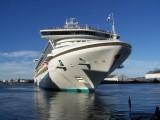 Cruiseship in Auckland