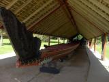 Maori War Canoe. Waitangi