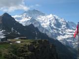 Jungfrau desde  el Mannlichen