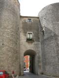Portal de Sobreportes.Entrada a la Plaça de la Catedral