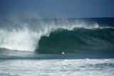 Waves at Ehukai Beach home of the famous Banzai Pipeline