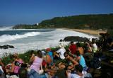 Eddie Aikau Surf Contest Spectators