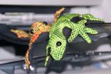 Fabric reptiles