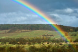 Easter rainbow.