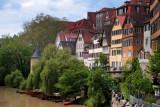 along the Rhine river.