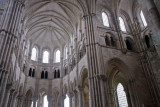 inside Vezelay Abbey