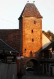 Wangen, la tour.