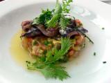 filetes de anchoa.