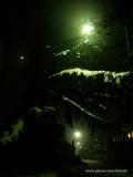 Moja ulica jedne zimske veceri / My street one winter night