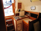 companionway & galley