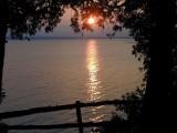Plattsburgh NY & Carb Island from Grand Isle