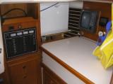 36  custom 12V panel & nav station