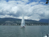 RESPITE 26C coming out of Burrard Inlet, Vancouver BC