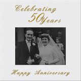CONGRATULATIONS ON YOUR 50TH WEDDING ANNIVERSARY