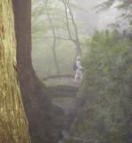 Bridge in the mist.