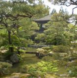 Japanese garden at Ginkakuji.