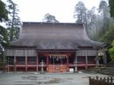 Temple at Hikosan.