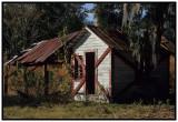 Old Florida Farm Shed