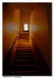 Dans l'escalier vers la lumière
