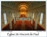 St-Vincent de Paul Church, Laval, PQ, Canada