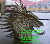 drago in acciaio inox per camino tagliato laser su disegno_1_1.jpg