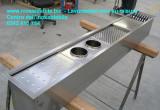 costruiamo su misura canali attrezzati inox