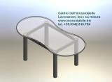 tavolo in acciaio inox per arredare la casa su misura