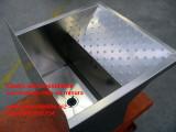 Lavatoio su misura in acciaio inox per abitazione privata lavapanni