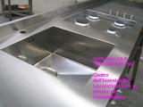 Piano cucina arredamento su richiesta del cliente
