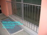 Parapetto in acciaio inox per finestre balconi