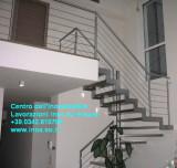 Apri la galleria - Transenne parapetti - corrimani - Inox - Edelstahl su misura